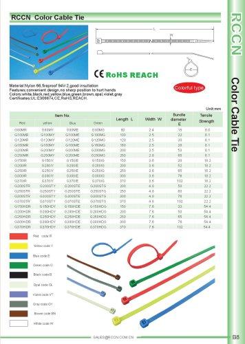 RCCN  Color Cable Tie