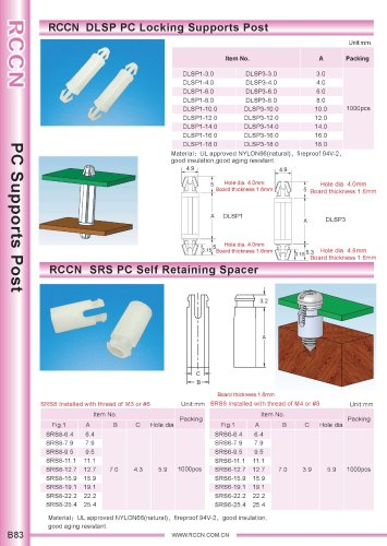 RCCN  DLSP PC Locking Supports Post