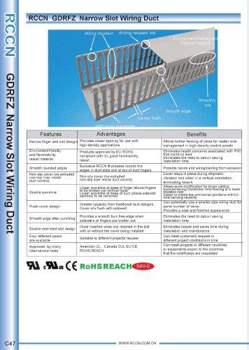 RCCN  GDRFZ  Narrow Slot Wiring Duct C47