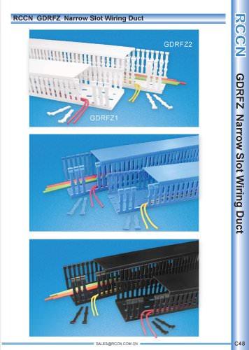 RCCN  GDRFZ  Narrow Slot Wiring Duct C48