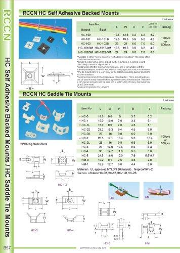 RCCN HC Self Adhesive Backed Mounts