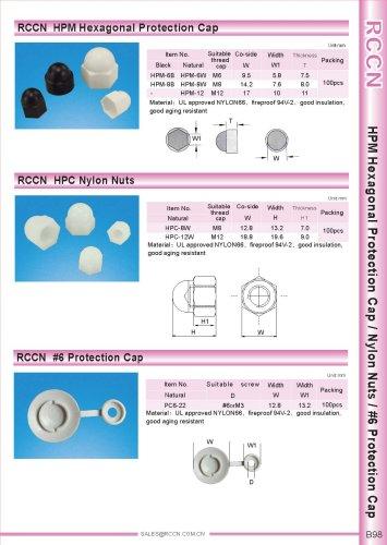 RCCN  HPM Hexagonal Protection Cap