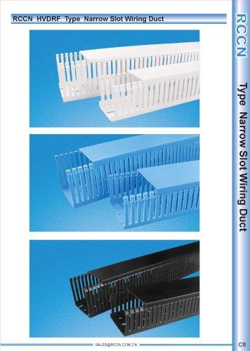 RCCN  HVDRF  Type  Narrow Slot Wiring Duct C8