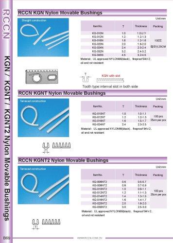 RCCN KGN Nylon Movable Bushings