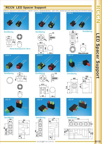 RCCN  LED Spacer Support B110
