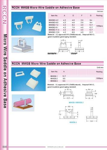 RCCN  MWSB Micro Wire Saddle on Adhesive Base