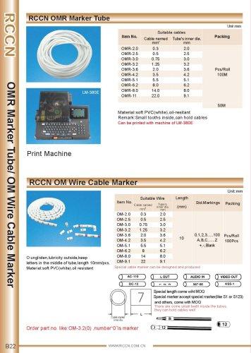RCCN OMR Marker Tube