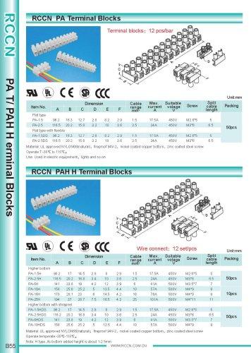 RCCN  PA Terminal Blocks