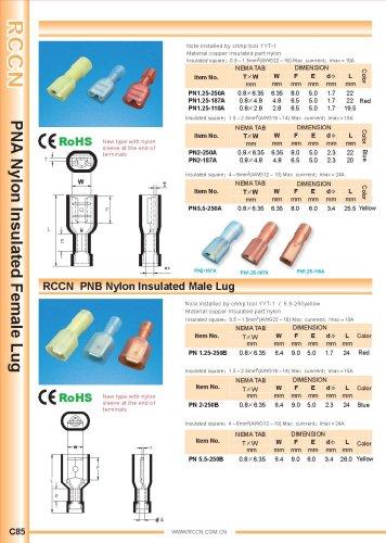 RCCN  PNA  Nylon Insulated Male Lug