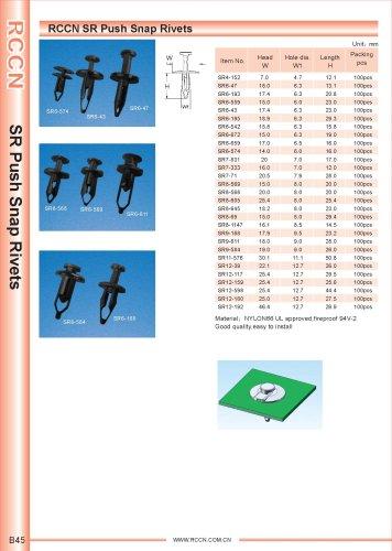 RCCN SR Push Snap Rivets B45