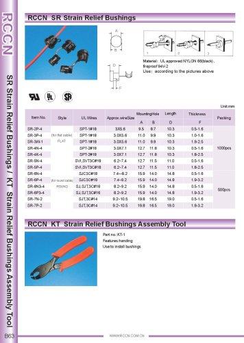 RCCN  SR Strain Relief Bushings / KT Strain Relief bushings assembly tool B63