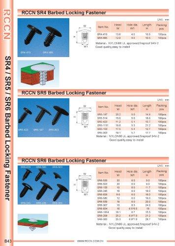RCCN SR4 Barbed Locking Fastener