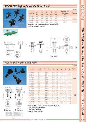 RCCN SRC Nylon Screw On Snap Rivet
