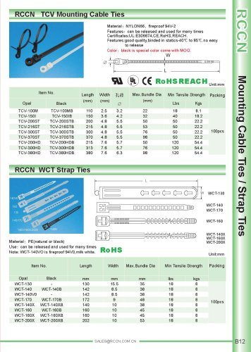 RCCN   TCV Mounting Cable Ties