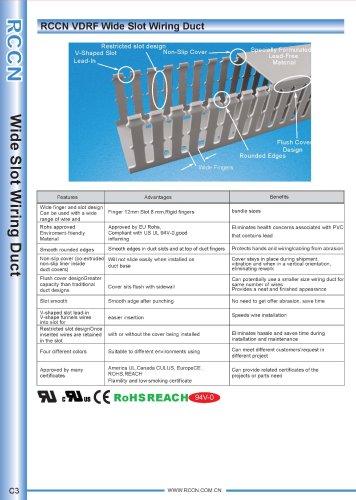 RCCN VDRF Wide Slot Wiring Duct C3