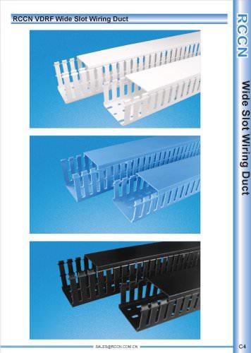 RCCN VDRF Wide Slot Wiring Duct C4