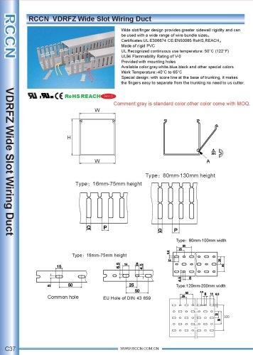 RCCN  VDRFZ Wide Slot Wiring Duct C37