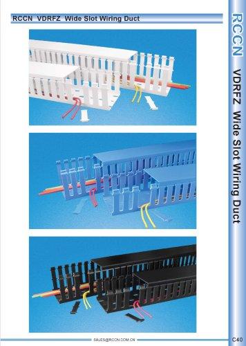 RCCN  VDRFZ  Wide Slot Wiring Duct C40