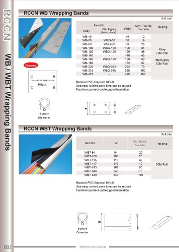 RCCN WB Wrapping Bands