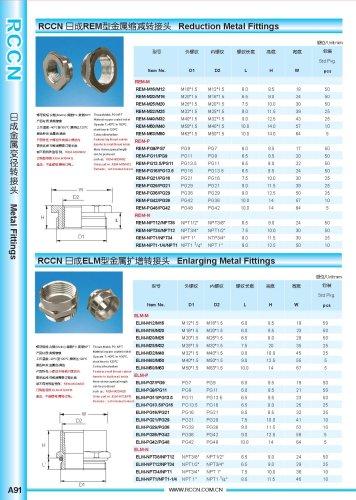 Reduction Metal Fittings