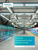 Electrical components for the railway industry