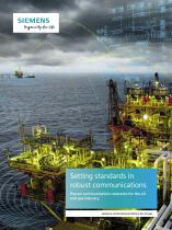 Industrial Communications for the Oil&Gas Industry