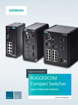 RUGGEDCOM Compact Switches Brochure
