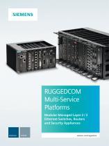 RUGGEDCOM Multi-Service Platforms Brochure