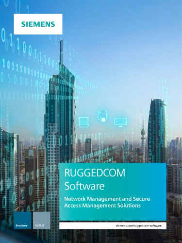 RUGGEDCOM Software Brochure