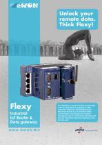 eWON Flexy, industrial modular M2M router