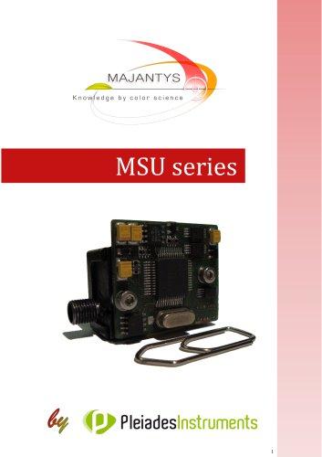MSU series - Datasheet