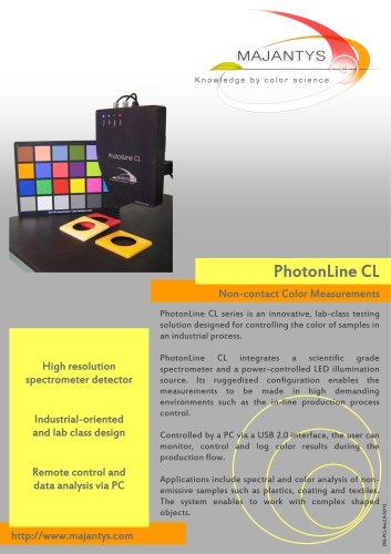 PhotonLine CL - Non-contact Color Measurements