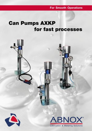 Can Pumps AXKP