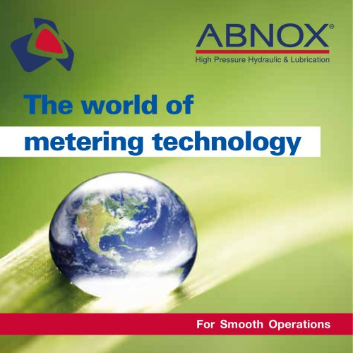 The world of metering technology