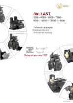 BALLAST 3500 - 4500 - 6000 - 7500 - 9000 - 11000 - 13500 - 16000