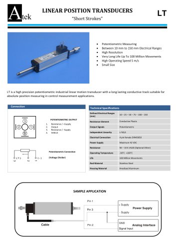 LT  Series Linear Transducer