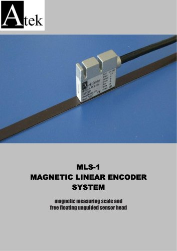 MAGNETIC LINEAR ENCODER SCALES