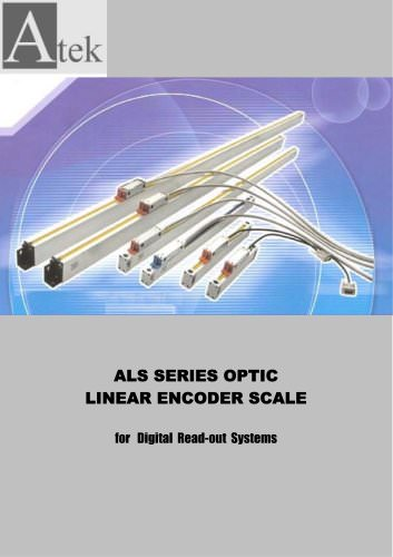 OPTICAL LINEAR ENCODERS SCALES