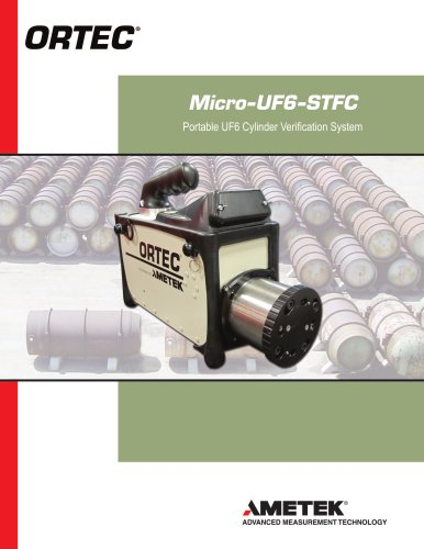 Micro-UF6 Portable UF6 Cylinder Verification System