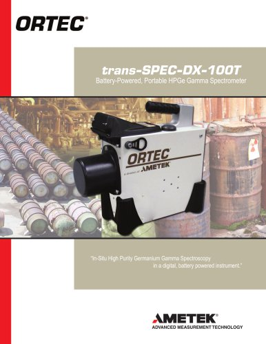 Trans-SPEC-DX-100-Battery-Powered-Portable-HPGe-Gamma-Spectrometer