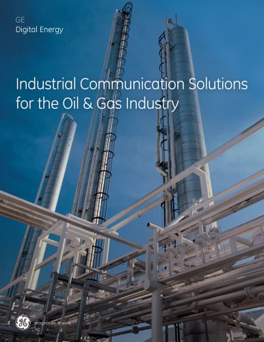 Digital Energy Industrial Communications Oil and Gas Brochure