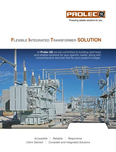 Flexible integrated transFormer SOLUTION