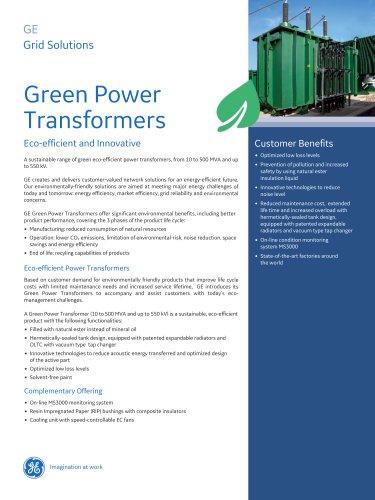 Green Power Transformers