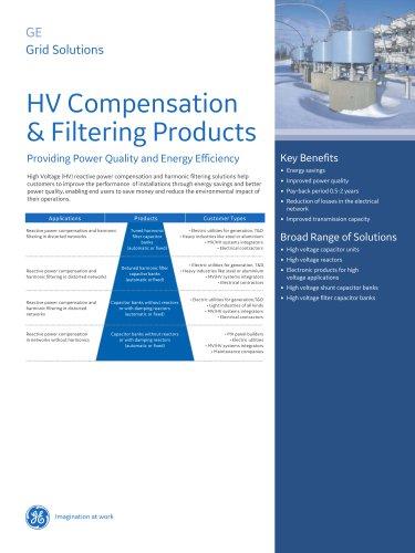 HV Compensation & Filtering Products