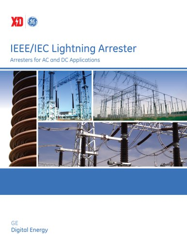 IEEE/IEC Lightning Arrester Arresters for AC and DC Applications