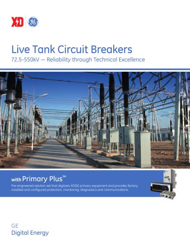 Live Tank Circuit Breakers Brochure