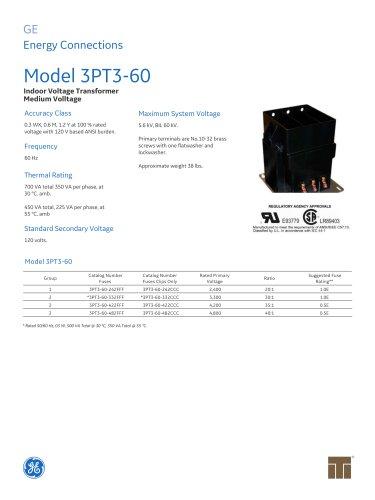 Model 3PT3-60