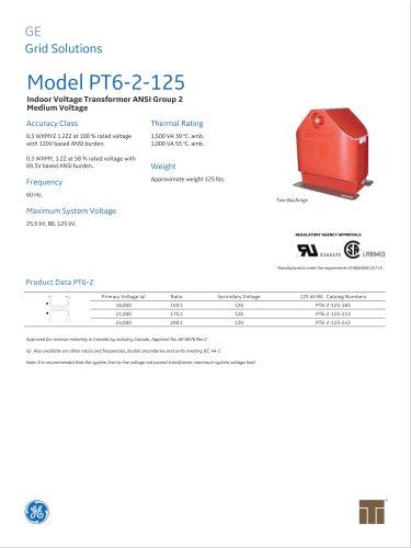 Model PT6-2-125