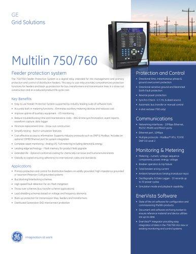 Multilin 750/760