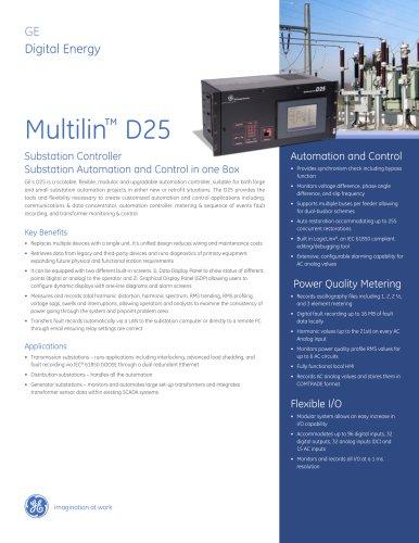 Multilin™ D25